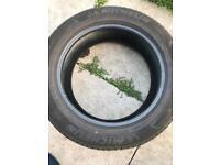 Michelin part worn tyre 215 55 17