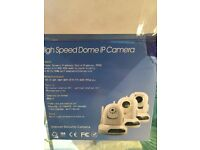 Brand New IP security baby camera with all accessories including charger and cable and CD X2