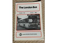BUS BOOKS THE LONDON BUS MONTHLY & LONDON BUS MAGAZINE QUARTERLY