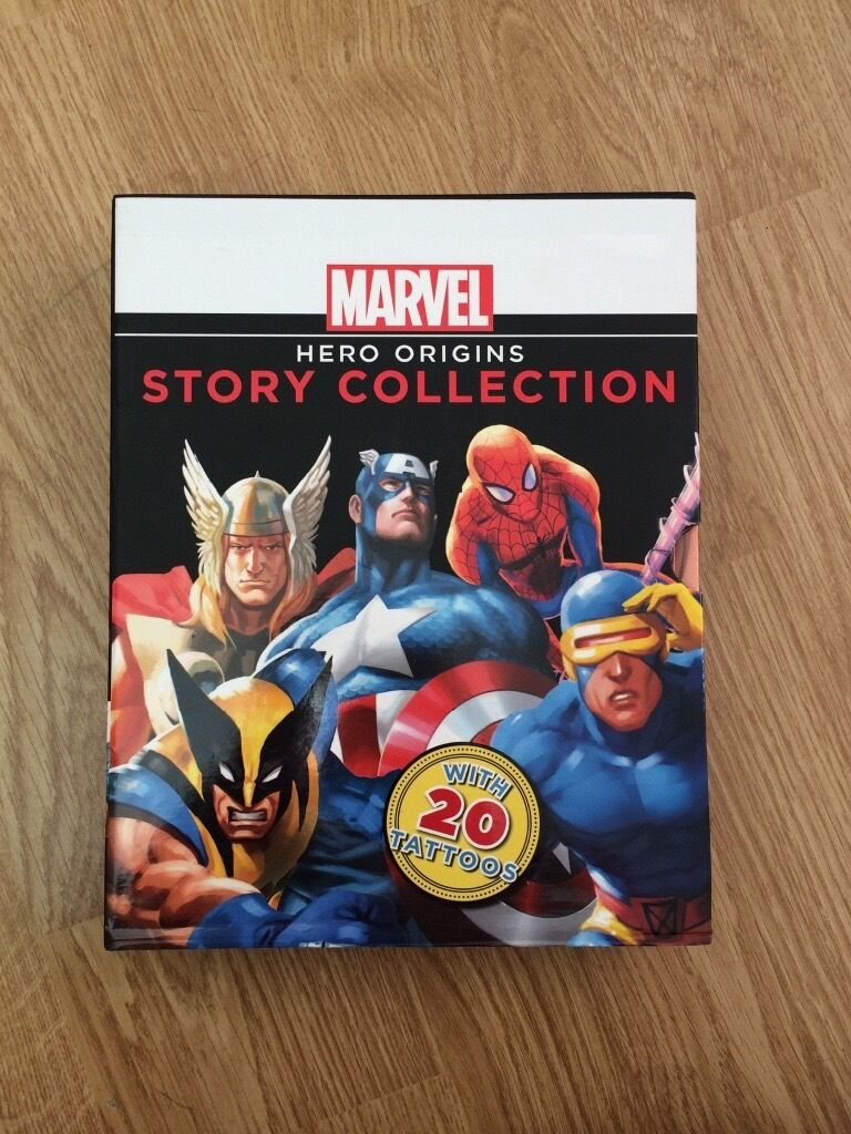 Marvel Hero Collectionin Bournemouth, DorsetGumtree - Marvel Origins Story Collection, these are in great condition and will make a lovely present for someone whos marvel mad, 4 books in the set. £10 ONO