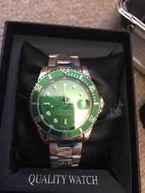 Rolex hulk SUBMARINER AUTOMATIC WATCH