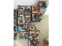 DC and Marvel Comics (bundles of 4 for £5)