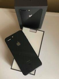 For Sale Iphone 8 Plus Black 64GB