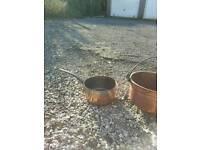 Copper container / saucepan
