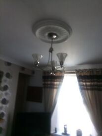 3 x ceiling lights