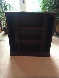 Wood CD / Book Case Shelf