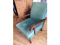 Free - old comfy chair. Could be reupholstery project?