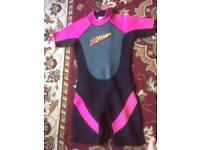 Child's large wetsuit
