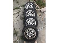 205 Peugeot GTI alloys gti with tyres 1.6