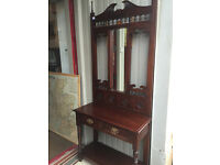 Hall Stand in good condition. Reproduction , good quality and design . Must be seen