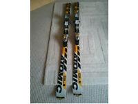 Atomic SL11 165 Carver Skis and bindings
