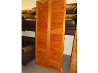 Solid Pine Closed Louvre Door 1981 mm x 457 mm