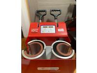 Double Mug Heat press
