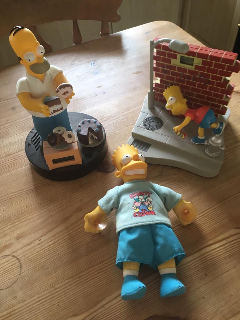 Simpson's toys