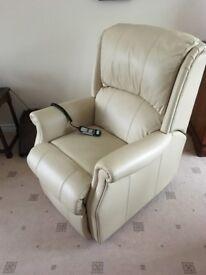 Leather Lift & Tilt Recliner Chair