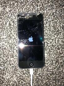 iphone 5 spairs or repairs unlocked black