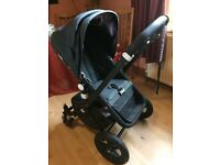Bugaboo Cameleon with accessories and footmuff