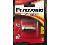 Panasonic lithium power batteries 10xpacks for £20