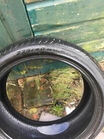 Pirelli Pzero run flat tyres