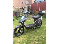 E Rider model 14 pedal and go electric moped