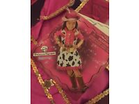 Teetots Princess factory cowgirl dressing up fancy dress outfit costume, very sparkly !!