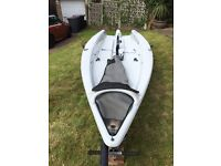 Laser 3000 sailing dinghy with launch and road trailer, ready to sail!