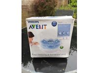 Philips avent microwave steriliiser and bottles
