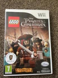 Wii Pirates of the Caribbean Lego Ipswich