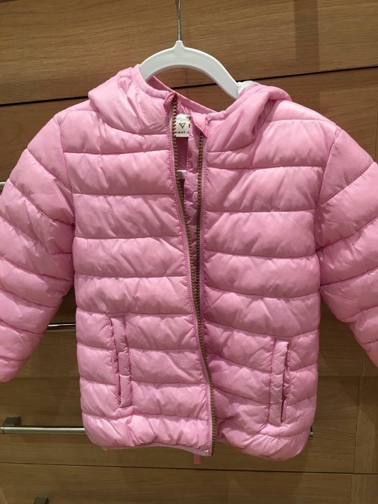 Pink Next jacket to fit age 3/4 years ( Immaculate)