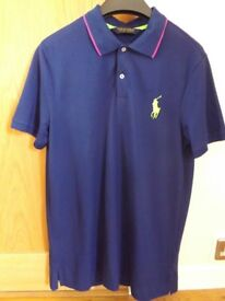 Men's Ralph Lauren Polo Shirt Golf Pro Fit L