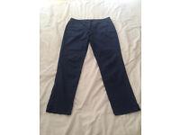 Seasalt navy trousers