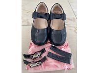 Lelli Kelly girls navy shoes