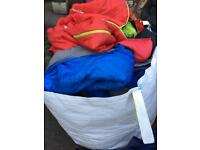 Joblot of used sleeping bags
