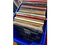 Vinyls job lot