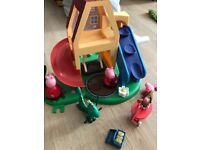Peppa pig house play set