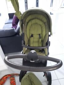 Stokke Pram, excellent used condition, with accessories (see pictures)