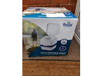Royal portable camping toilet