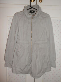 H&M lightweight jacket coat size S/M