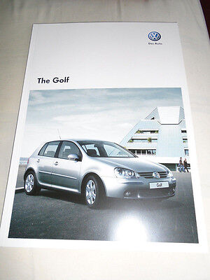 VW Golf range brochure Jul 2008