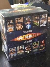 The All New Doctor Who - 10 volume boxed book collection