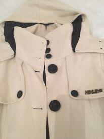 Henley's coat
