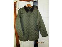 Unworn Barbour Liddesdale Jacket Mens Large Size Olive Colour