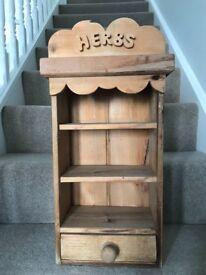 Vintage Herb Rack