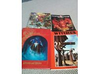 Dungeons AND Dragons books total 25