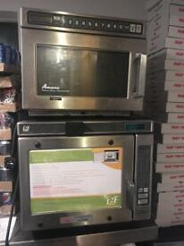 Microwave oven and stone oven