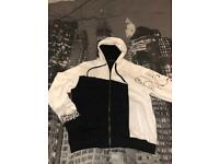 Size Medium Charitable First Menswear Greco High Neck Zipped Sweatshirt New With Tags Beautiful In Colour
