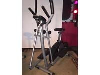Roger Black Exercise Bike (£75) and York Cross Trainer (£120) ONO.
