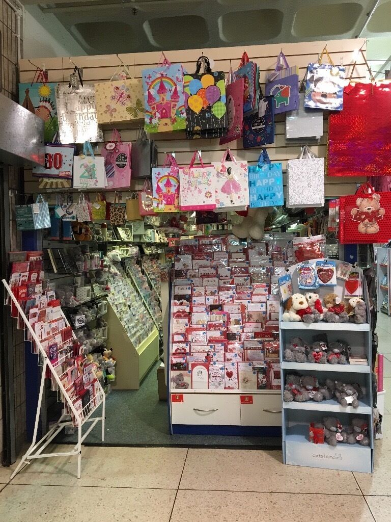 Greeting Card And Gift Shop Plus 10000 Of Stock And All Fixtures