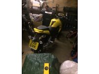 Low mileage sym wolf 125 little use