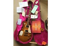 Gibson Les Paul Custom Shop 1958 R8 OHSC, COA 2005 re-finished